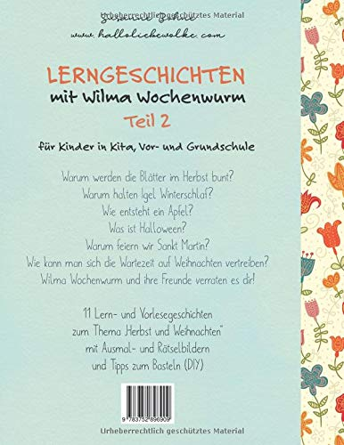 Lerngeschichten Mit Wilma Wochenwurm Teil 2 Amazon De Susanne