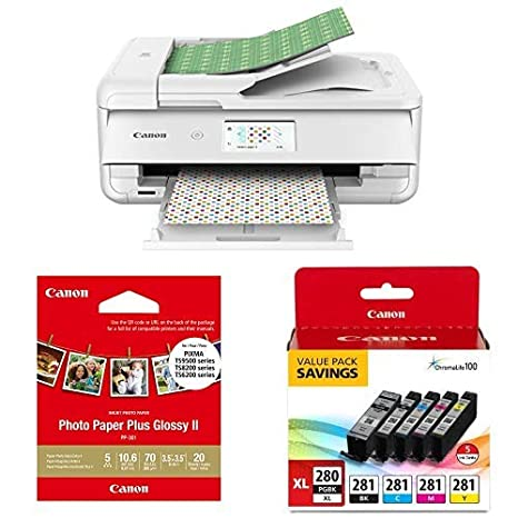 Amazon.com: Canon TS9521C - Impresora de manualidades ...