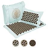 Ajna Acupressure Mat and Pillow Set - Natural
