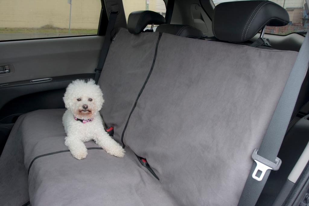 rc pet products canine car seat protector grey pet kennel covers pet supplies. Black Bedroom Furniture Sets. Home Design Ideas