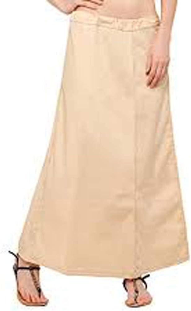 Indian Saree Petticoat Sari Lite - Falda interior para debajo de ...