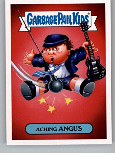2017 Topps Garbage Pail Kids Series 2 Hard Rock #5A ACHING ANGUS - Kid Rock Memorabilia