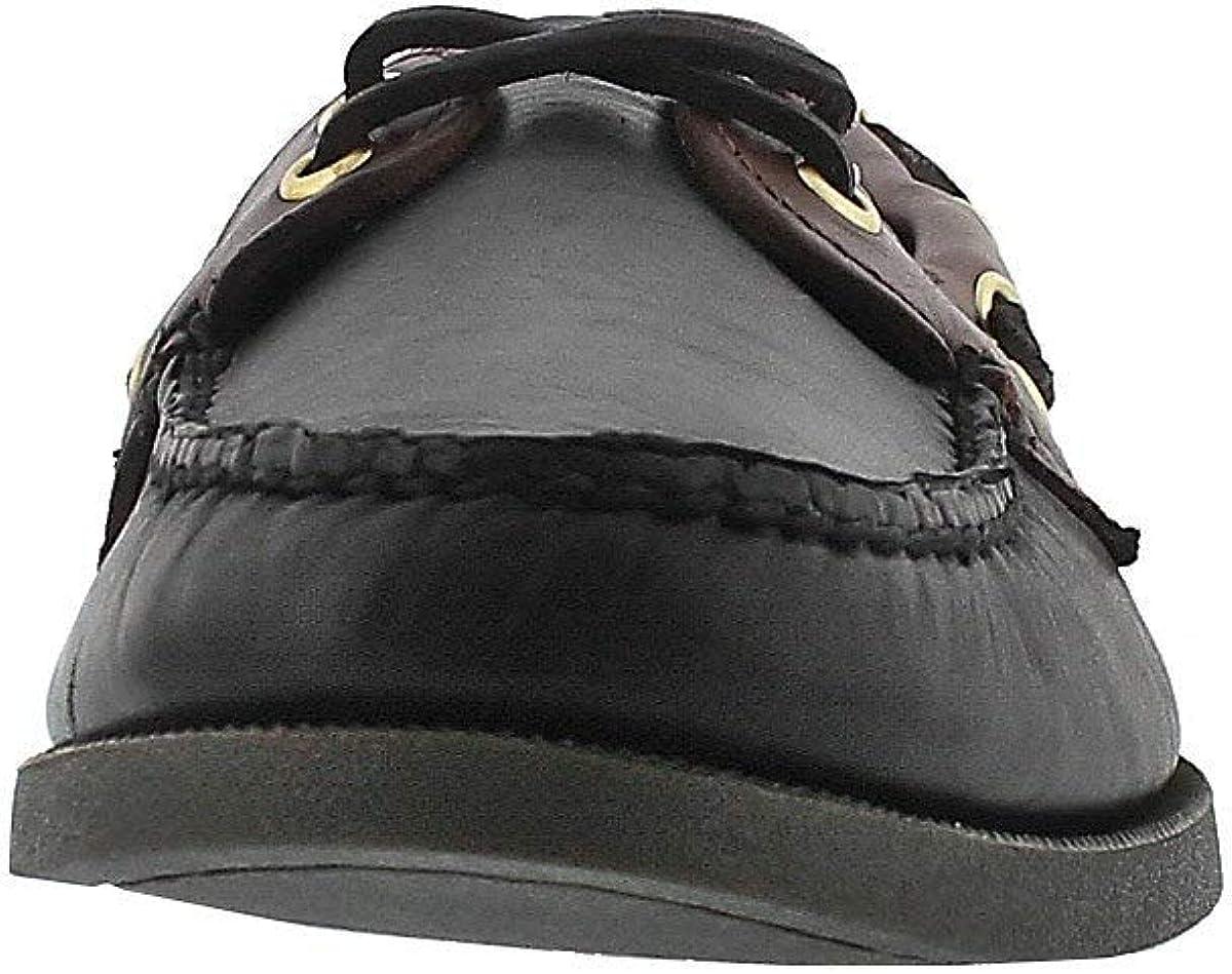 Sperry Top-Sider Mens Authentic Original 2-Eye Boat Shoe Black Brow 12 Medium US