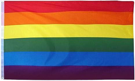 Gay Straight Alliance Flag 3x5 ft GSA Rainbow Gay Pride Gay Lesbian LGBT Gender