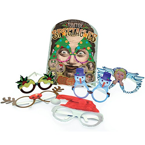 House of Marbles Yuletide Spectacles - Fun Holiday Eyewear- Pack Of - Fun Eyewear