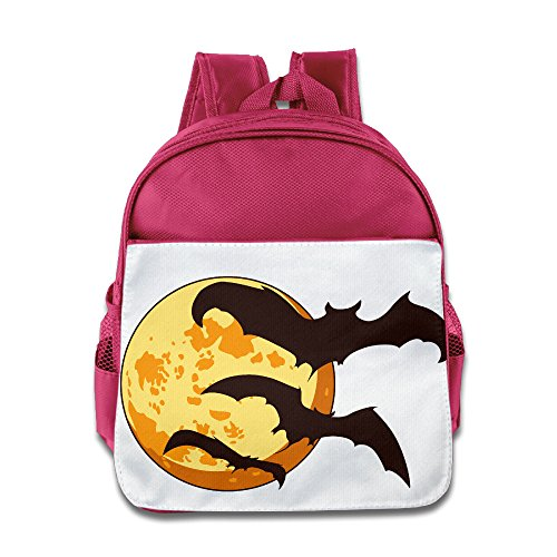 Halloween Bat Kid Hisper Backpack School (Origin Of Halloween Hallows Eve)
