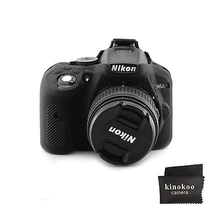 kinokoo Funda de Silicona para cámara Nikon D5300 Funda Protectora ...
