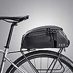 51ct %2BVGFcL. SS150 moonlux Bici Borsa Posteriore Cremagliera Pacchetto Zaino Multifunzionale Custodia per Sacchetto Impermeabile 8L per…