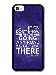 Lmf DIY phone caseAMAF ? Accessories Cheshire Cat Alice in Wonderland Life Inspirational Quote case for iphone 5/5sLmf DIY phone case