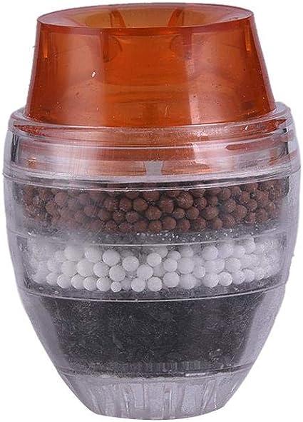 El filtro de agua del grifo reduce el flujo de cloro alto ...