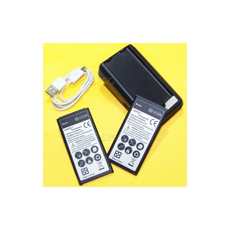 Galaxy S5 Active Battery Kit, 2x 4450mAh