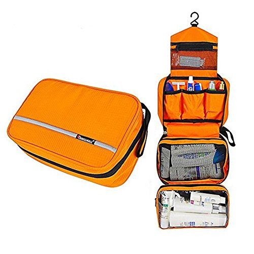 travel-organizer-accessory-toiletry-cosmetics-makeup-hanging-shaving-kit-bag-new-orange