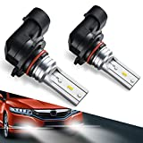 Automotive : 9140 H10 9145 Led Fog Light Bulb,Marsauto New Upgrade 9045 9040 Led Lamp High Power CSP-Y11, Cool Xenon white 5500-6500K (pack of 2)