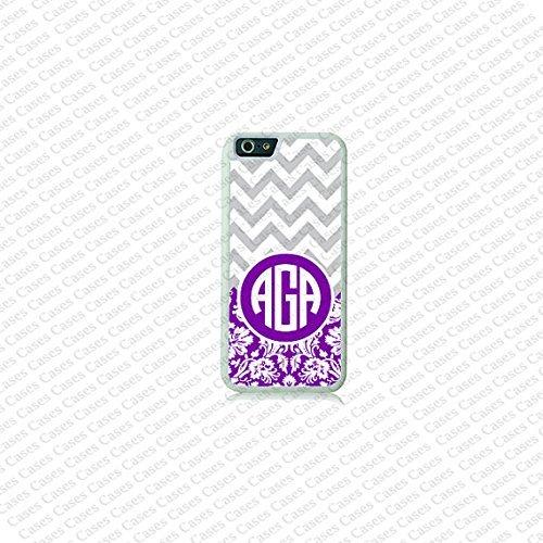 Krezy Case Chevron Monogram iPhone 6 Plus Case, Monogram iPhone 6 Plus Cover, Custom iPhone 6 5.5 inch Cases,...