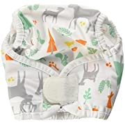 Thirsties Reusable Cloth Diaper Cover, Hook and Loop Closure, Woodland Size One (6-18 lbs)