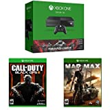 Xbox One 500GB Console - Gears of War: Ultimate Edition Bundle + Call of Duty: Black Ops III + Mad Max