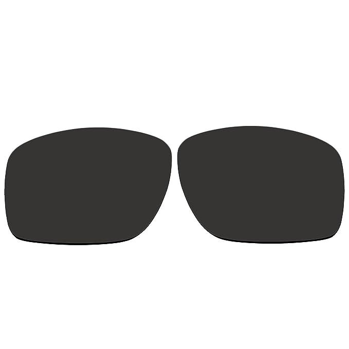 ACOMPATIBLE Ersatzgläser für Oakley M Frame Heater (Jahr 1999)-Sonnenbrille, Titanium Mirror - Polarized, S