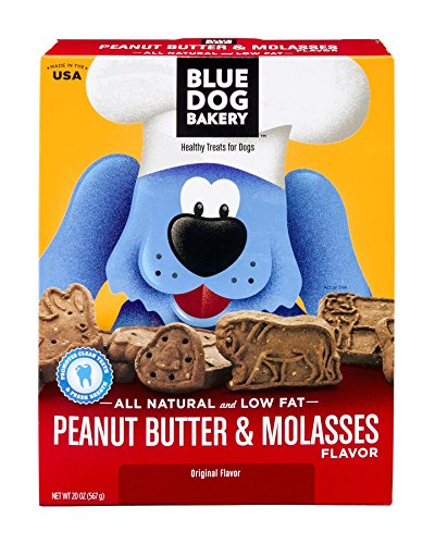 Blue Dog Bakery Natural Low Fat Dog Treats, 20 Ounce Boxes (Pack of (Healthy Edibles Peanut Flavor)