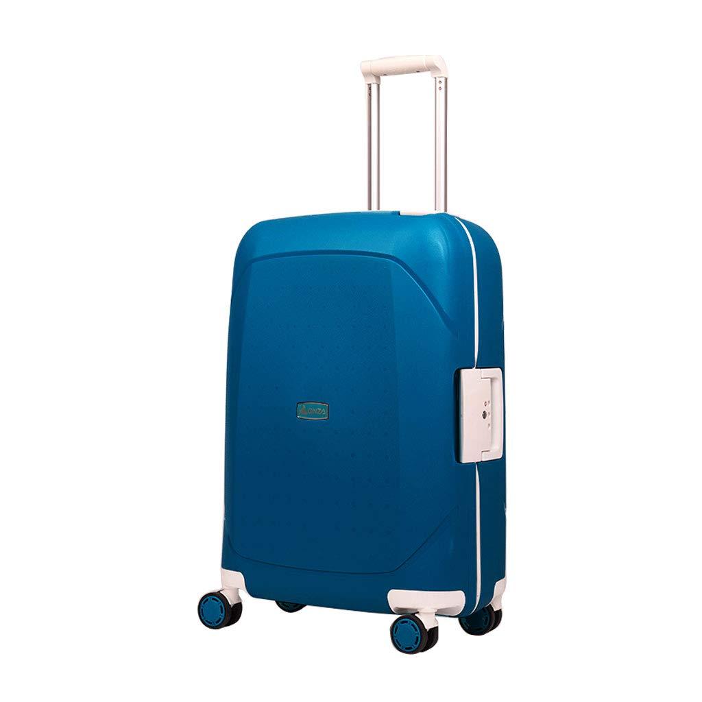 ハンド荷物スーツケース超軽量ABSハードシェル旅行は4つのホイール、航空&詳細情報のために承認されたハードシェルトロリーサイズのアドオンキャビンハンド荷物スーツケースキャリー B07P8P3D2V  54.4cm*30cm*77.3cm