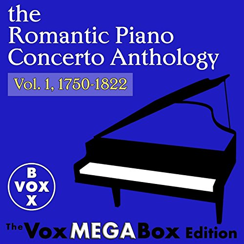 The Romantic Piano Concerto Anthology, Vol. 1