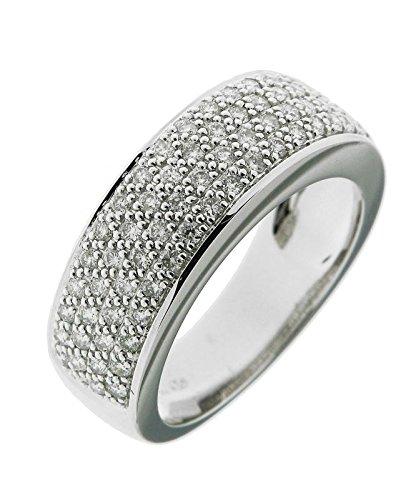 Bague Or 750 Diamant ref 42469