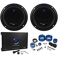 (2) PLANET AUDIO AC10D 10 3000W Subwoofers+AC2000.2 2 Channel Amplifier+Amp Kit