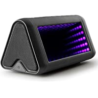Hosamtel Magic Mirror Bluetooth 4.0 Portable Wireless Speaker With Virtual 3D Bright Lights,28W Output Power with Enhanced Bass,Build in Microphone for Handfree Phone Call