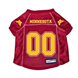 Minnesota Gophers Premium NCAA Pet Dog Jersey w/ Name Tag XS