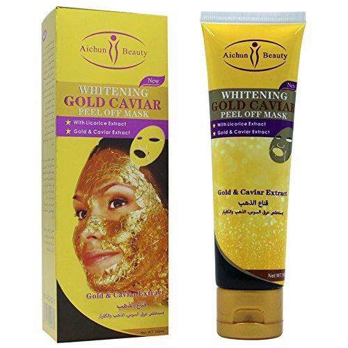 Aichun Whitening Gold Caviar Peel off Mask Mask Face Rejuvenation Moisturizing 120ml