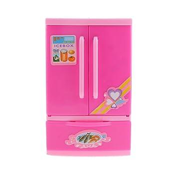 Spielhaus Mini-Kühlschrank Kinder Kinder Spielzeug: Amazon.de: Spielzeug
