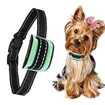 MASBRILL Dog Bark Collar - Upgrade 2019 Safe No Bark Control Device for Tiny Small Medium Dog-Stop Barking by Sound and Vibration- No Shock Human Way-Best Choice for Dog Lovers