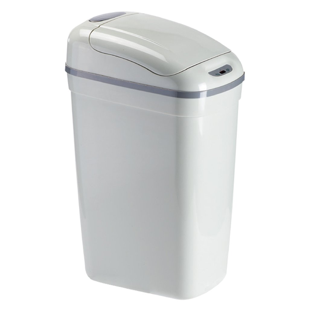 Trash can Smart Trash Can Automatic Flip Office Large Capacity Sanitary Bucket 20L