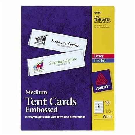 amazon com o avery consumer products o laser inkjet tent cards