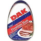 DAK Fully Cooked Premium Ham, 16 oz Can - 5 Pack