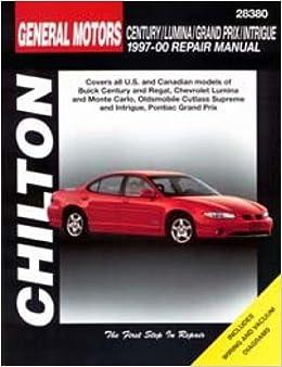 Gm century, lumina, grand prix, and intrigue, 1997-00 (chilton.