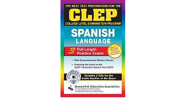CLEP Spanish w// Audio CDs