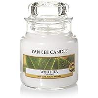 YANKEE CANDLE White Tea Small Jar Candle