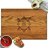 Froolu Antique carved cutting board for Name Engraved Christmas Gifts