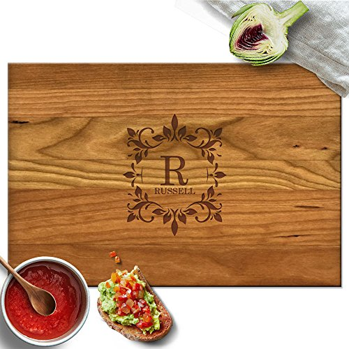 Froolu Antique carved cutting board for Name Engraved Christmas Gifts by Froolu