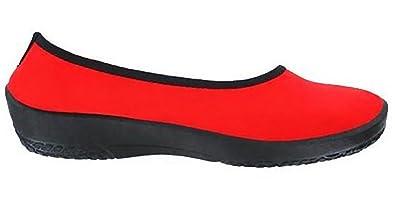 ARCOPEDICO Lolita, Ballerines femme - rouge - rouge, 40 EU