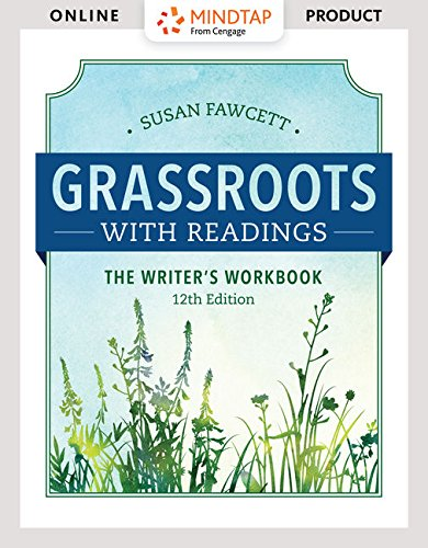 MindTap Developmental English with Write Experience Powered by MyAccess for Fawcett's Grassroots with Readings: The Writer's Workbook  - 6 months -  12th Edition [Online Courseware] by Cengage Learning