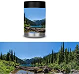 Mountain Lake Can Cooler Skin Cast Vinyl Wrap Yeti Rambler Colster RTIC