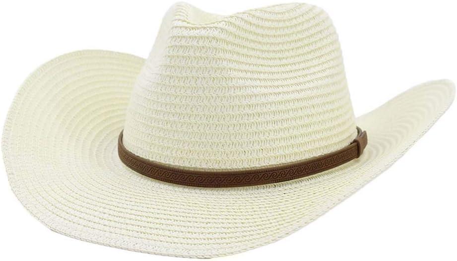Couleur : Navy Blue, Taille : 56-58CM LOYAL TECHNOLOGY-HAT Chapeaux de Cow-Boy /à Bord Large Caract/éristiques:100/% Nouveau Casquette Western Cowgirls