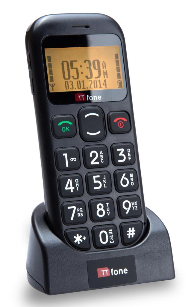 ttfone jupiter big button easy senior sim free unlocked. Black Bedroom Furniture Sets. Home Design Ideas