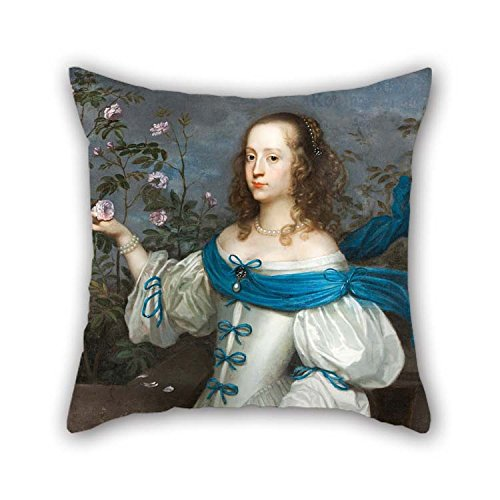 Oil Painting Hendrick Munnichhoven, Attributed To - Beata Elisabeth Von K?nigsmarck (1637 ? 1723) Throw Pillow Covers Best For Birthday Valentine Home Theater Outdoor Indoor 20 X 20 Inches / 50 By
