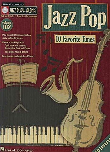 Jazz Pop - Jazz Play-Along Volume 102 (CD/Pkg) (Hal Leonard Jazz Play-Along)