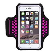 Triomph Sports Armband 5.5'' with Cards Money Holder for iPhone 6/6s/6 Plus/6s Plus iPhone 7/7 Plus Samsung Galaxy S5/S6/S7 Edge Plus Note 5/7 with Screen Protector