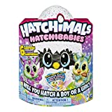 Hatchimals, HatchiBabies Chipadee, Hatching Egg with Interactive Pet Baby (Styles May Vary) for Ages 5 and Up (Amazon Exclusive)