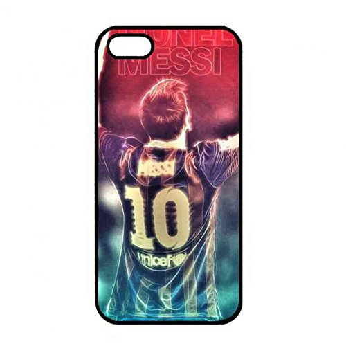 Barcelona Messi 10 Iphone 5/ Iphone 5s Case,FCB Iphone 5/ Iphone 5s Case,Barcelona Black Hard Case Cover For Iphone 5/ Iphone 5s