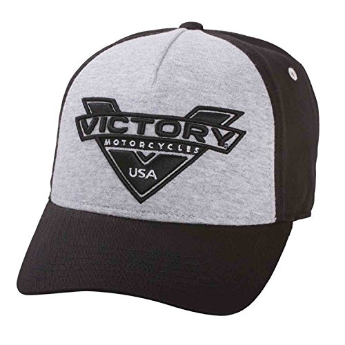 Victory Motorcycle New OEM Black & Grey Marl Baseball Cap Hat, 2863742 by Victory Motorcycle